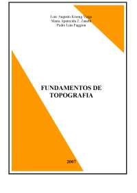 Topografia, Notas de estudo de Topografia