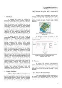 injeção eletronica, Notas de estudo de Engenharia Mecânica