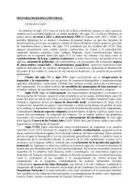 Historia Moderna Universal - resúmenes del Floristán (apuntes muy buenos y completos)