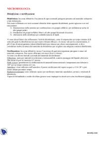 Microbiologia e batteriologia - Appunti - Parte 1