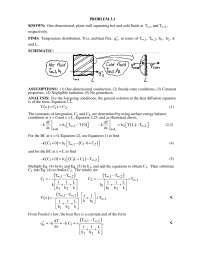 Resoluções - Transcal, Notas de estudo de Engenharia Química