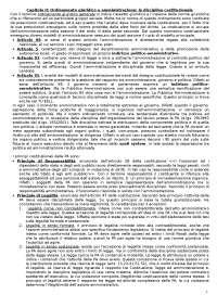 Riassunto esame diritto amministrativo - ECO TN - Compendio consigliato: Elio Casetta