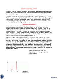 Appunti di Meteorologia 2 - Appunti di Meteorologia generale