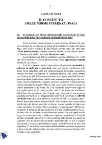 Riassunto esame di diritto Internazionale (Testo consigliato: Conforti), Parte 3