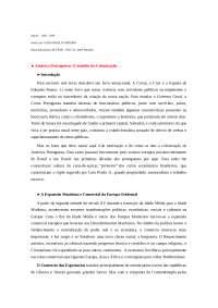 América Portuguesa: O Sentido da Colonização, Trabalhos de Políticas Públicas