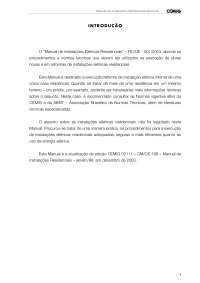 Instalações Elétricas Residenciais, Notas de estudo de Engenharia Elétrica
