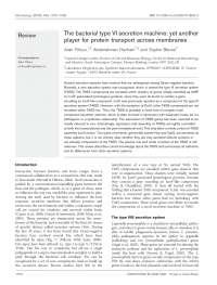 Sistema Secretor tipo VI, Notas de estudo de Biomedicina