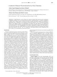 Conductive Polymer Functionalization by Click Chemistry, Notas de estudo de Engenharia Elétrica