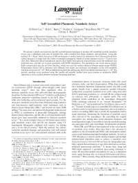 Self-Assembled Plasmonic Nanohole Arrays, Notas de estudo de Engenharia Elétrica