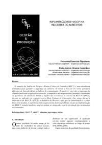 Introdução HACCP, Notas de estudo de Química Industrial