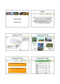 O Alcool, Notas de estudo de Engenharia de Petróleo
