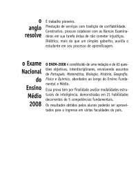 Enem 2008-comentada, Provas de Matemática