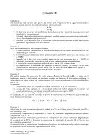 Finanza aziendale - Esercizi - 3