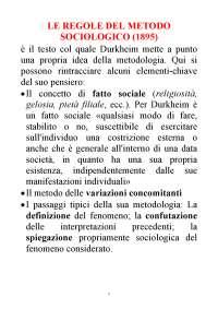 I tre piani del discorso di Durkheim