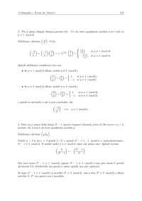 Crittografia e teoria dei numeri - Esercizi risolti - Parte 5