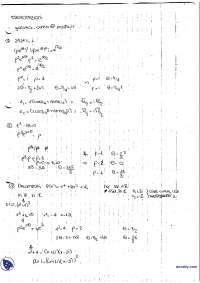 Analisi complessa - Esercitazione risolta