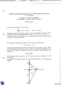 Modelli e metodi numerici - Esame risolto 11-1-2005