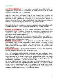 Corso di Diritto Costituzionale - Rif manuale Bin Petruzzella
