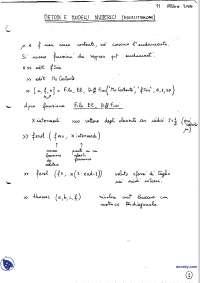 Modelli e metodi numerici - Esercitazioni risolte