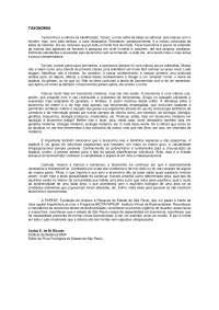 Biologia Botânica - Taxonomia, Notas de estudo de Botânica