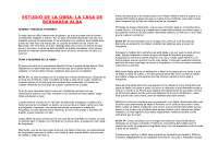 "analisi ""La casa de Bernarda Alba"""