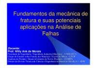 Análise de Fadiga, Notas de estudo de Engenharia Mecânica