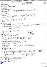 [MB] Fisica Generale 1 - Compendio: Dimostrazioni di Meccanica e Termodinamica