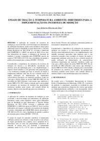 Ensaio de tração, Notas de estudo de Engenharia Mecânica