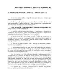 direito do trabalho Parte II, Resumos de Direito do Trabalho