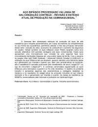 Aço bifásico, Notas de estudo de Engenharia de Materiais