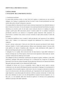 Diritto della previdenza sociale - Riassunti