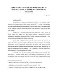 Direito internacional, Notas de estudo de Direito Internacional