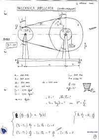 [AP] Meccanica applicata alle macchine - Esercitazione svolta 2