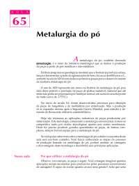 Telecurso 2000 - Processos de Fabricação - 65proc, Notas de estudo de Engenharia Mecânica