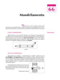 Telecurso 2000 - Processos de Fabricação - 66proc, Notas de estudo de Engenharia Mecânica