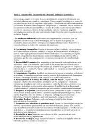 Sociología General Apuntes