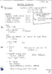 [AP] Macchine elettriche - Appunti - Parte 1