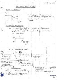 [AP] Macchine elettriche - Appunti - Parte 3