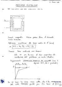 [AP] Macchine elettriche - Appunti - Parte 2