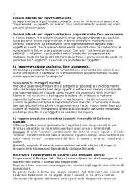 Psicologia cognitiva, risposte capitoli 6-13, Nicoletti