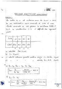 [AP] Macchine elettriche - Esercitazione 3