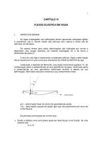 Flexão Elástica, Notas de estudo de Engenharia Civil