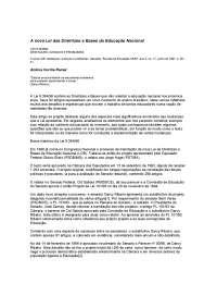 LDB Comentada, Notas de estudo de Serviço Social