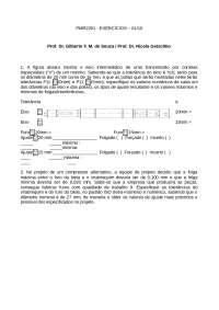 PMR 2201 Exercícios 2010, Exercícios de Mecatrônica