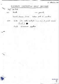 [AP] Elementi costruttivi delle macchine - Appunti - ok