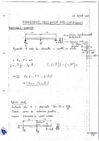 [AP] Fondamenti di Meccanica applicata - Esercitazione 4
