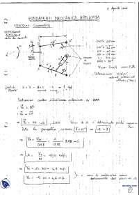 [AP] Fondamenti di Meccanica applicata - Esercitazione 3