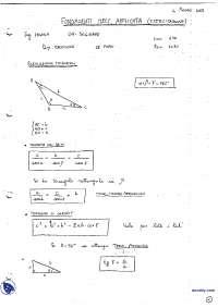 [AP] Fondamenti di Meccanica applicata - Esercitazione 1