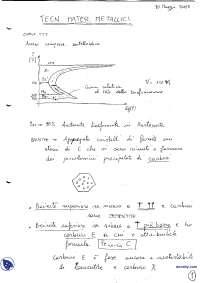 [AP] Tecnologia dei materiali metallici - Appunti - Parte 5