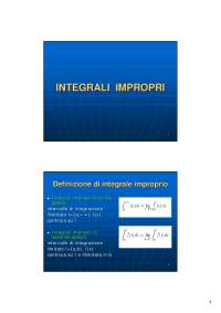 integrali impropri